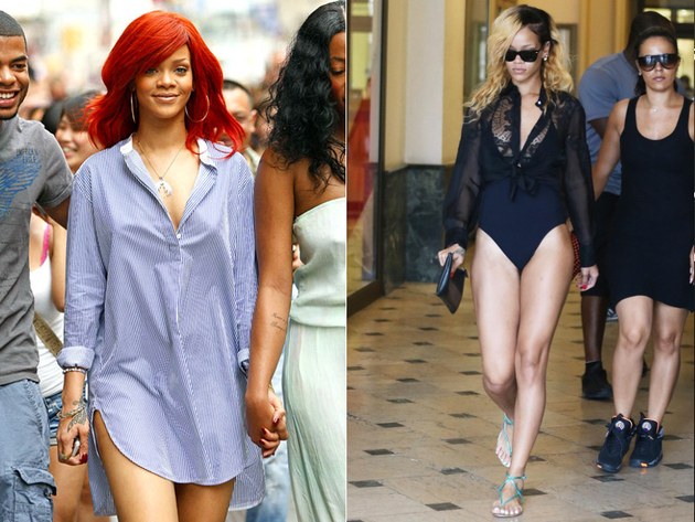 Rihanna No Pants Looks