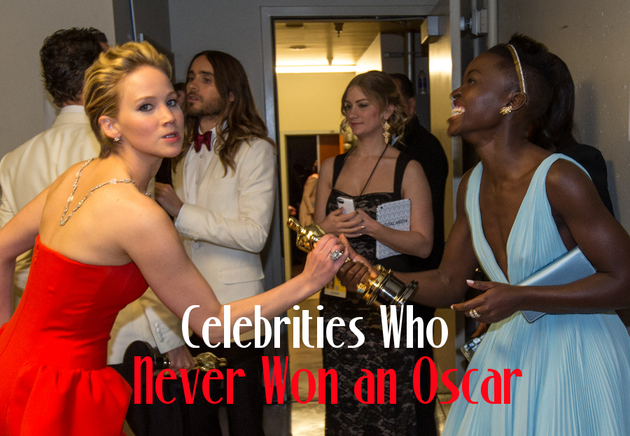 Celebrities Who Never Won an Oscar