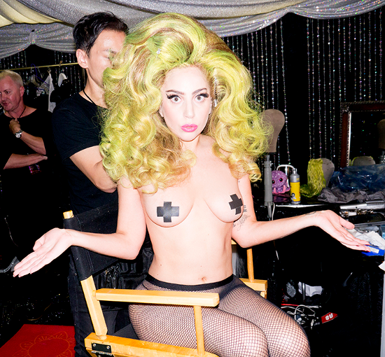Lady Gaga For Terry Richardson