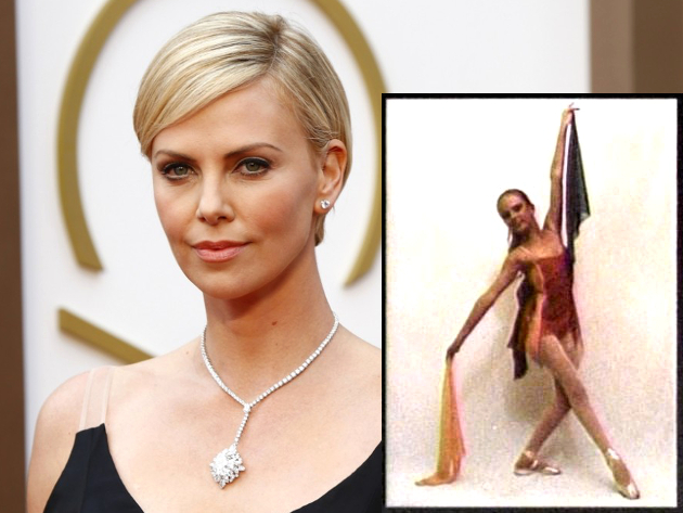 Charlize Theron Ballerina Training