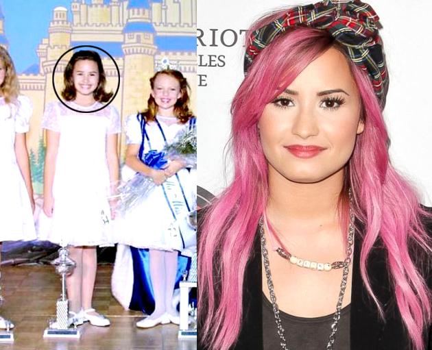 Demi Lovato Child Pageant