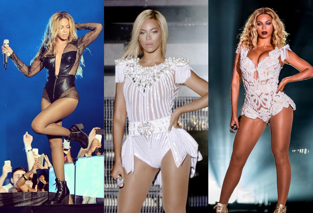Celebrity Stage Looks: Beyoncé's Best Stage Outfits