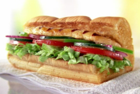 Subway Roasted Chicken Sandwich