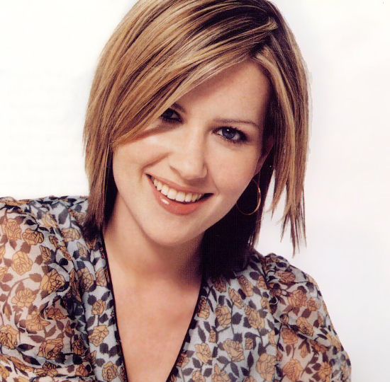 Dido Flip Choppy Shag Hairstyle