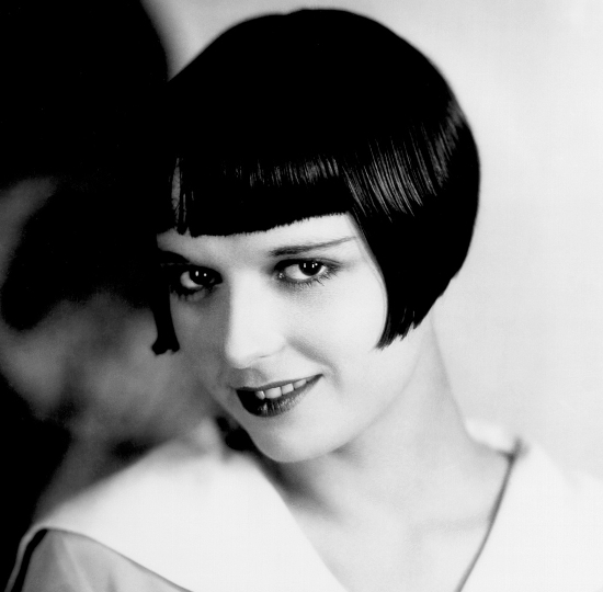 Louise Brooks 20s Bob Haircut