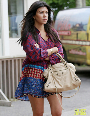 Kourtney Kardashian Baby Bump 2014