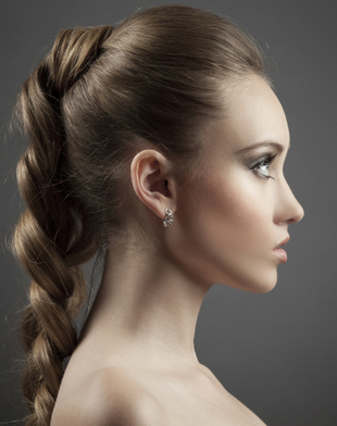 Braided Ponytail Hair