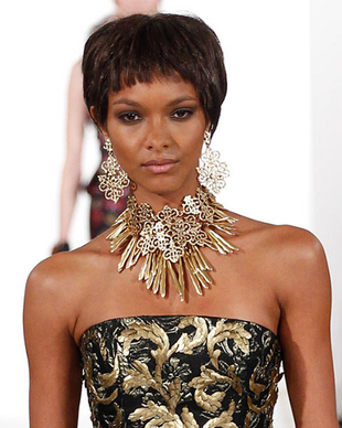 Oscar De La Renta Fall 2014 Necklace