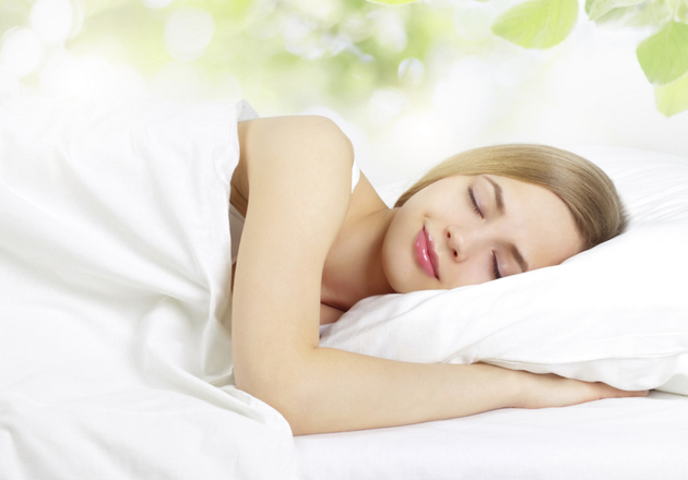 Sleeping With Face On Pillow Case