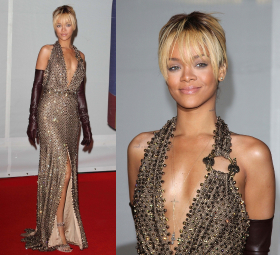 Rihanna 2012 Brit Awards Dress