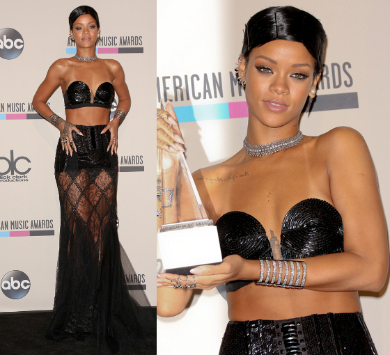 Rihanna 2013 American Music Awards Dress