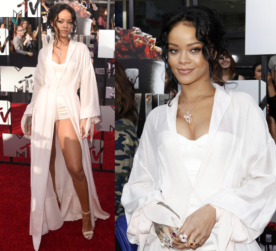 Rihanna 2014 Mtv Movie Awards Dress
