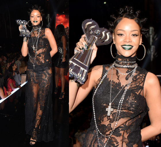 Rihanna 2014 I Heart Radio Music Awards Dress