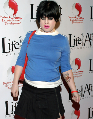 Kelly Osbourne Messy Look