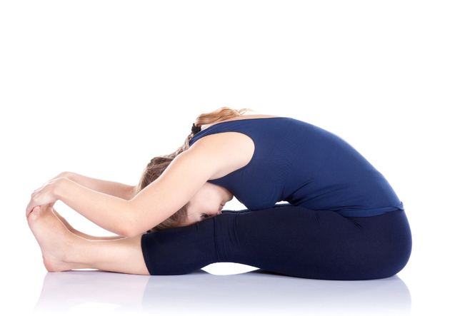 Head To Knee Forward Bend