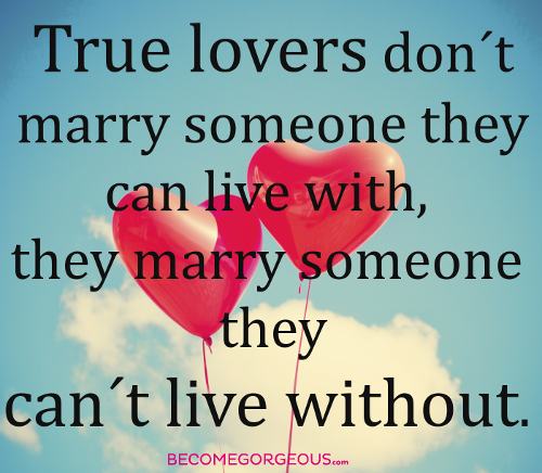 Why Get Married Quote