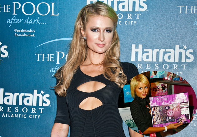 Paris Hilton Scrapbooking Set