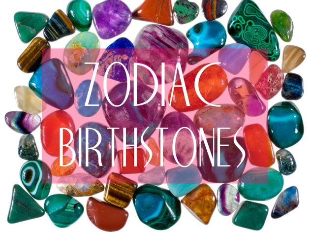 Find Your Birthstone by Zodiac Sign