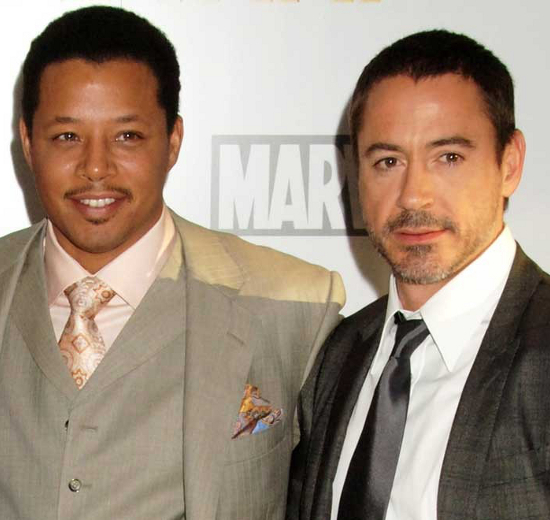 Robert Downey Jr And Terrence Howard