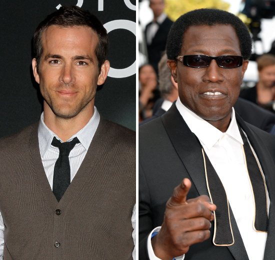 Ryan Reynolds And Wesley Snipes