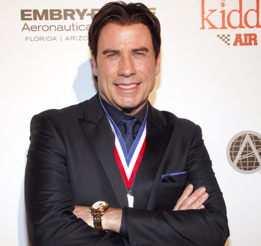 John Travolta High School Dropout