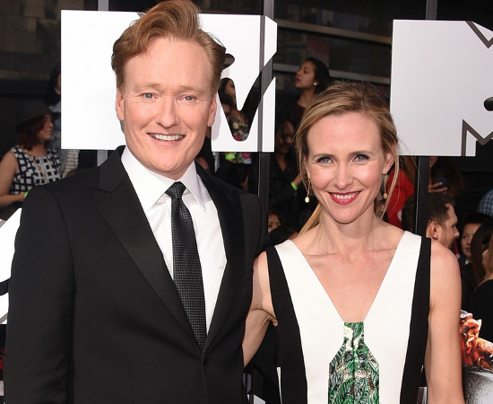Conan O'Brian And Liza Powel