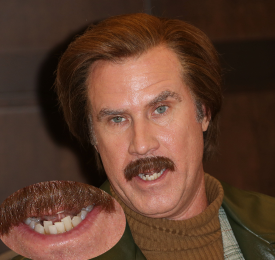 Will Ferrell Teeth