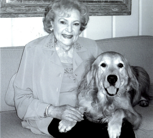 Betty White Dog
