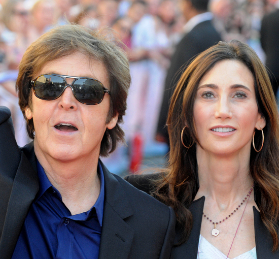 Paul Mc Cartney And Nancy Shevell