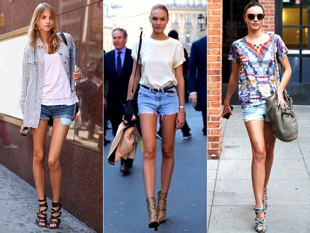 Denim Short Summer Outfits