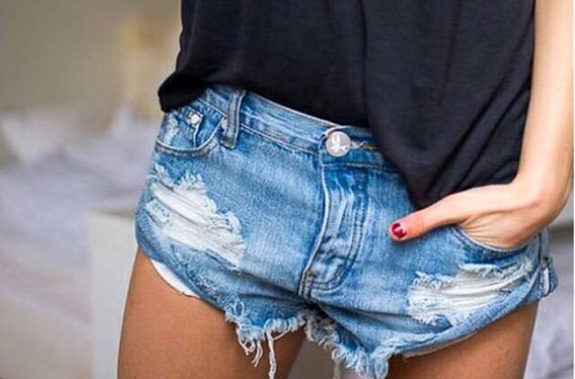 Do It Yourself Denim Shorts