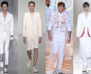 Get ready to discover the latest trends from Men's Fashion Week London and Milan. Check out the fresh looks when it comes to men's style for Spring/Summer 2015.
