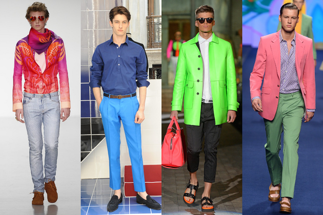 Men's Fashion Trends Spring/Summer 2015.