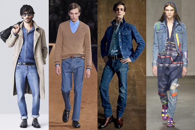 Mens Denim Trend Ss 2015