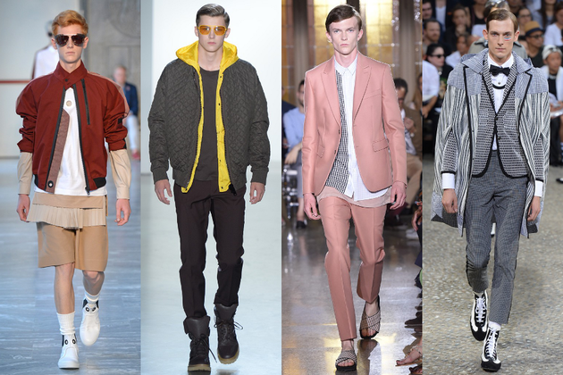 Mens Layering Trend Ss 2015