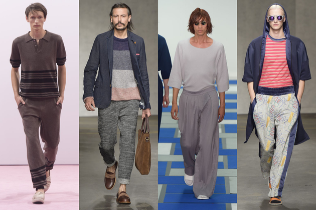 Mens Loose Pants Trend Ss 2015