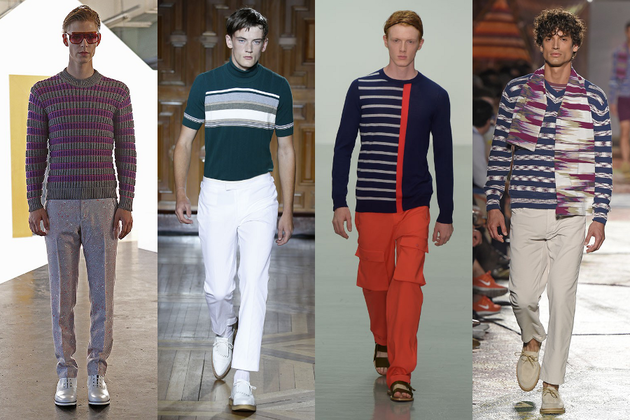 Mens Stripes Trend Ss 2015