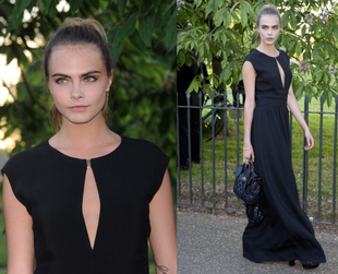 See the cool fashion and the best dressed celebrities, from actresses to models, at the annual Serpentine Gallery Summer Party, co-hosted in London by Brioni.