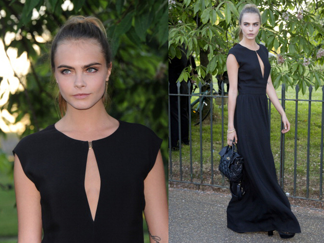 Cara Delevingne Serpetine Party Outfit