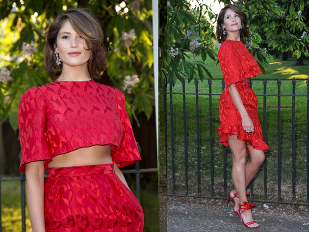 Gemma Arterton Serpetine Party Outfit