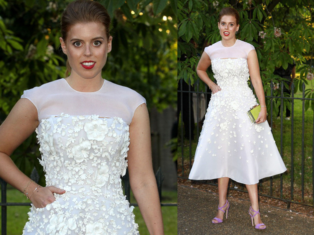 Princess Beatrice Serpetine Party Outfit