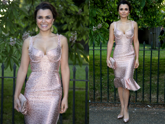 Samantha Barks Serpetine Party Outfit