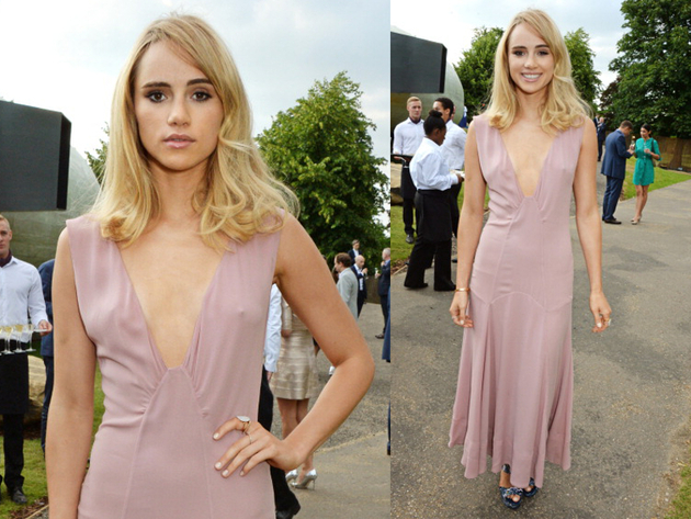 Suki Waterhouse Serpetine Party Outfit