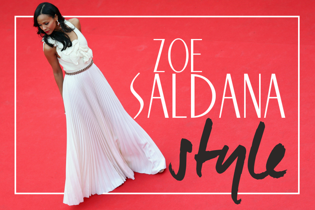 Zoe Saldana's Best Red Carpet Looks