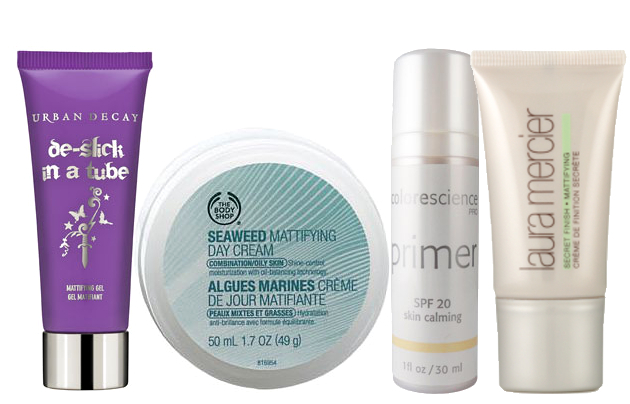 Best Products For Shine Free Skin