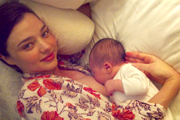 Miranda Kerr Breastfeeding