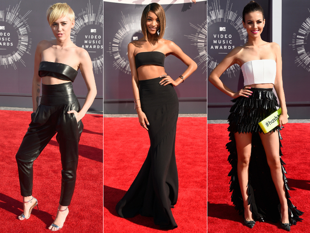 2014 Mtv Vmas Crop Tops