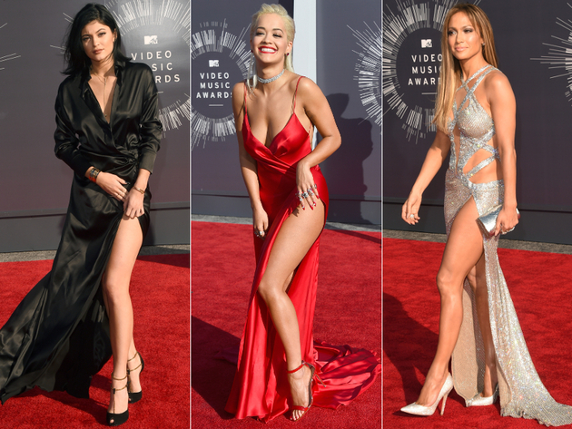 2014 Mtv Vmas High Slits
