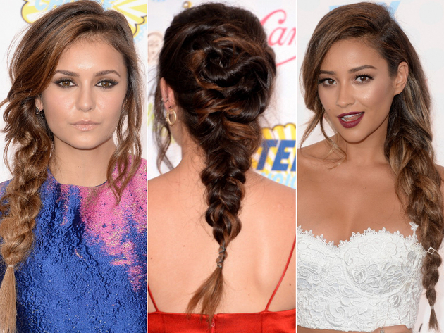2014 Teen Choice Braided Hairstyles
