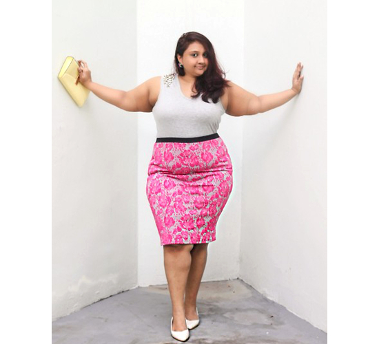 Plus Size Pencil Skirt Outfit